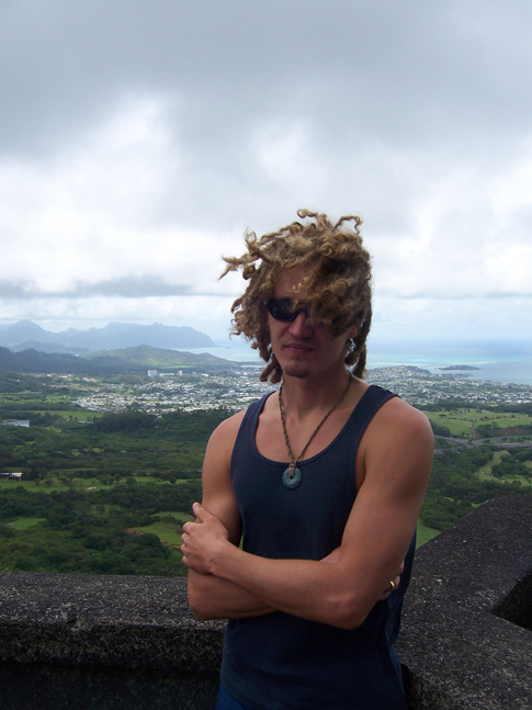Lion-I at Pali Lookout Hawaii