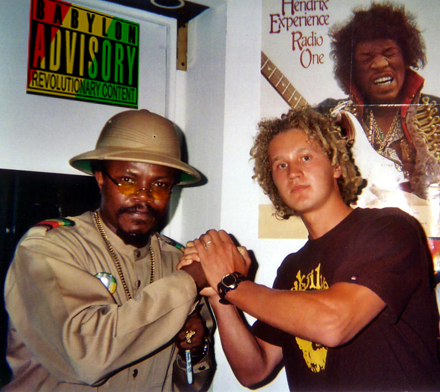 Lion I and Reggae legend Luciano in Maui, Hawaii