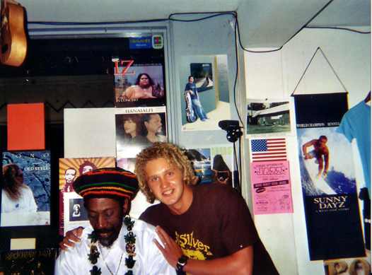 Lion-I and Reggae legend Bunny Wailer of Bob Marley and the Wailers