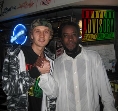 Lion I and Reggae legend Half Pint